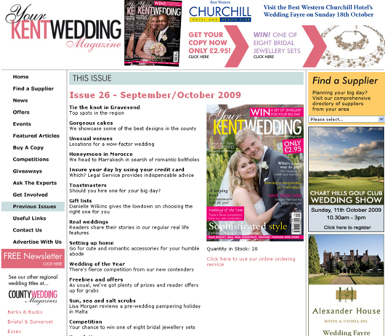 Kent Wedding Magazine