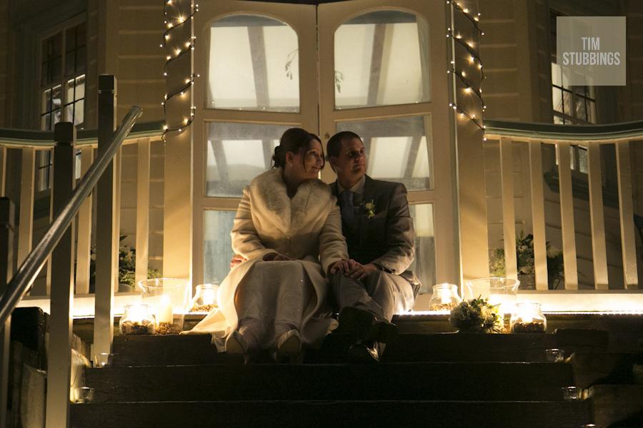 Whitstable winter wedding Artist's House