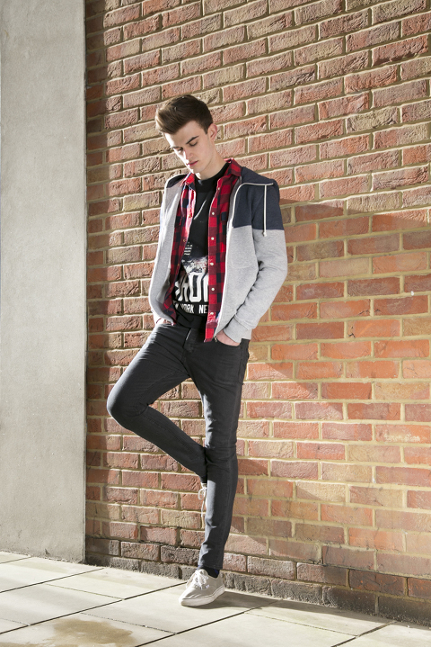 Canterbury magazine portrait fashion shoot