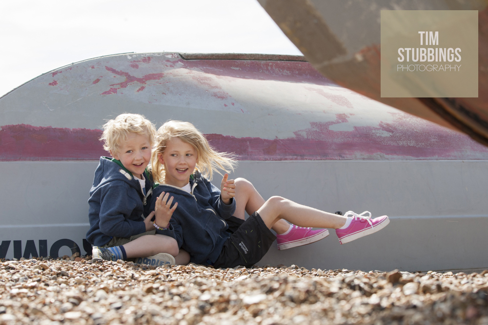 Family photo shoots on the beach at Whitstable Kent